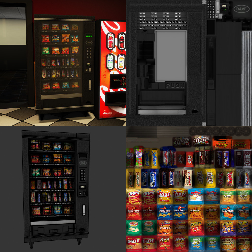 Justin wildhorn vending machine