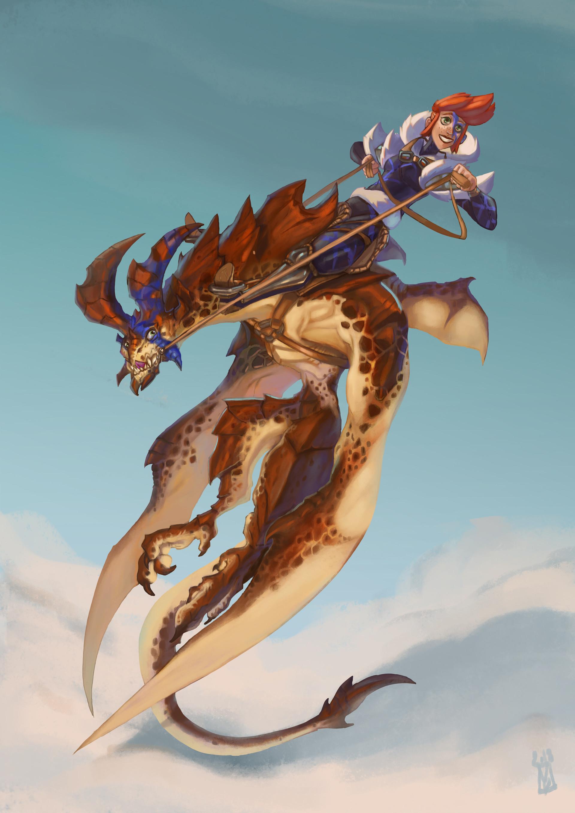 Victor debatisse dragon