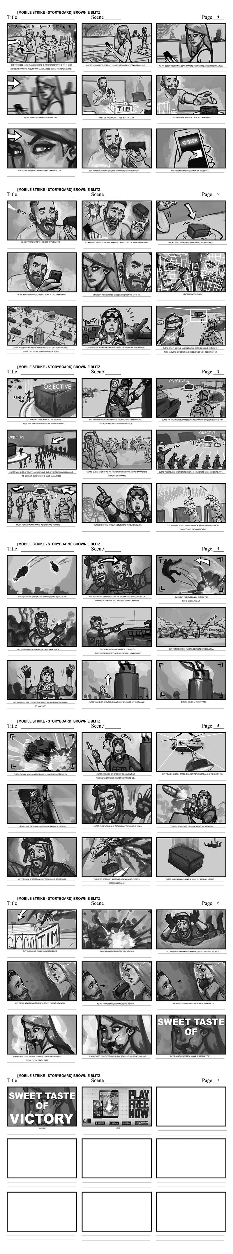 Efrem palacios mobile strike storyboard brownie blitz