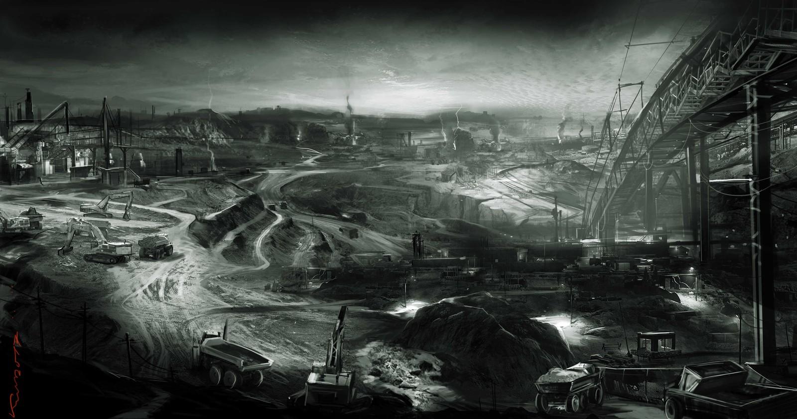 mining site  block 1