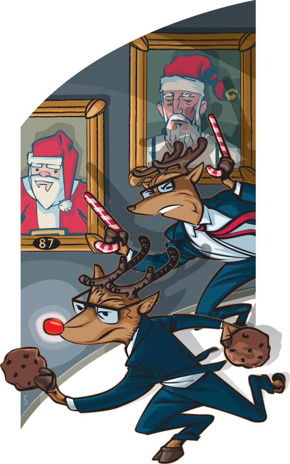 Reindeer Secret Service