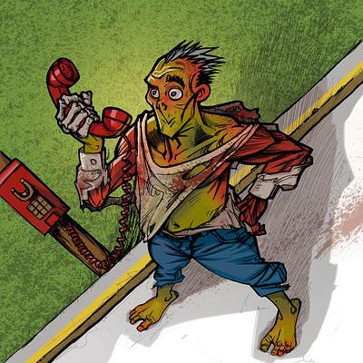 Mariano santillan zombie phone