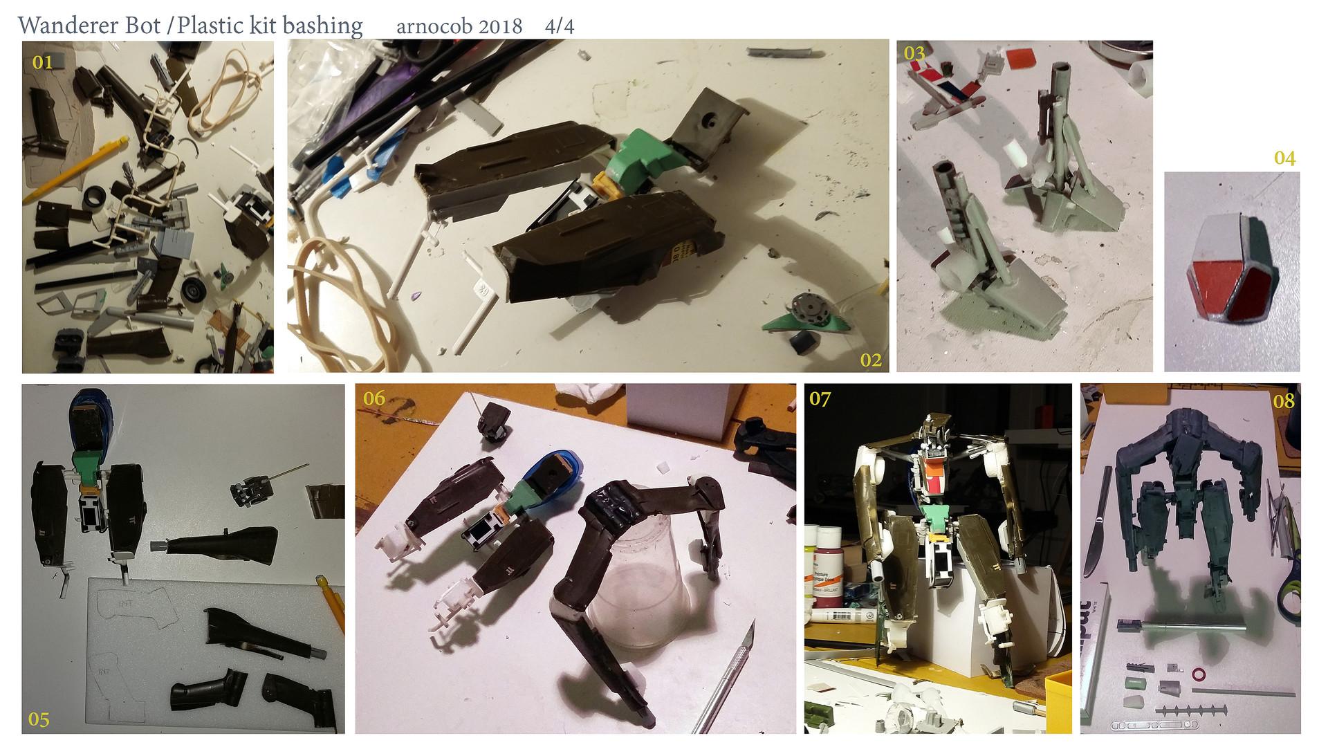Arnaud caubel wandererbot plastickitbashing arnocob 04