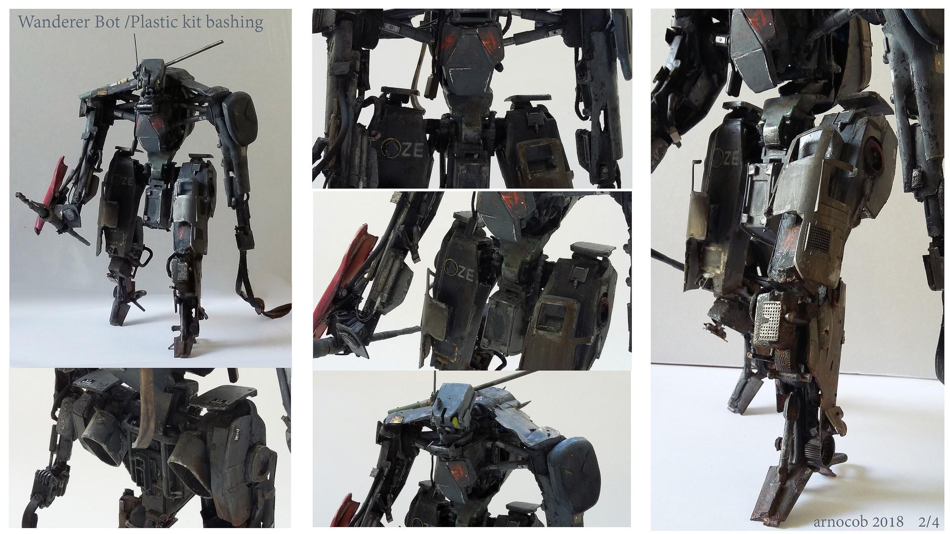 Arnaud caubel wandererbot plastickitbashing arnocob 02