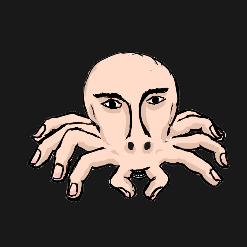 I designed the character to be a spider adapted to assume human features, specifically to inflict fear onhumans.