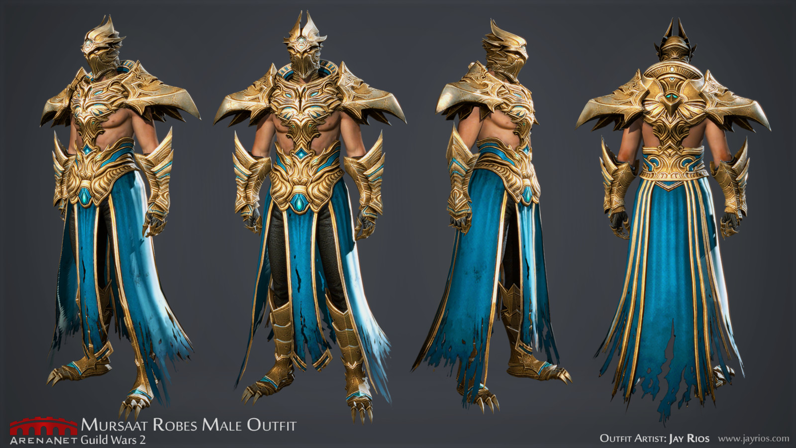 Mursaat Robes M -ArenaNet -