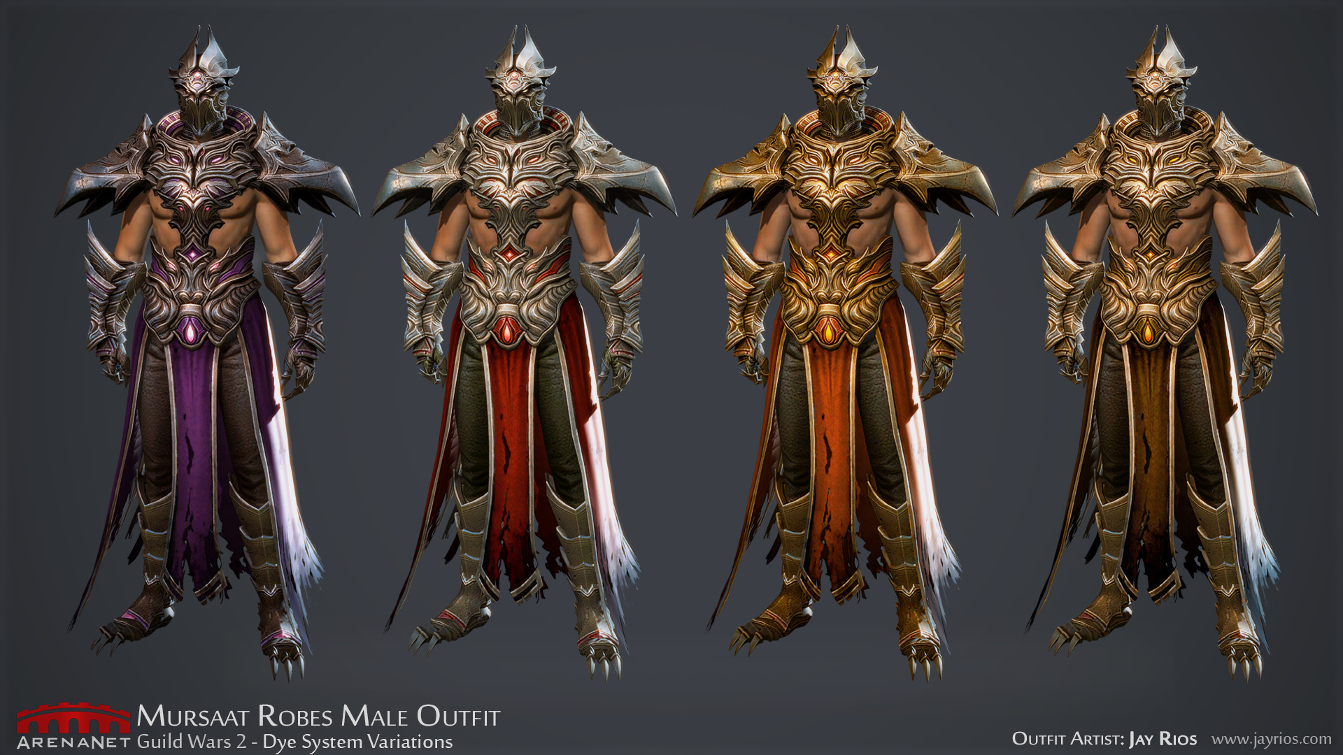 ArtStation - Mursaat Robes Outfit Male, Jay Rios