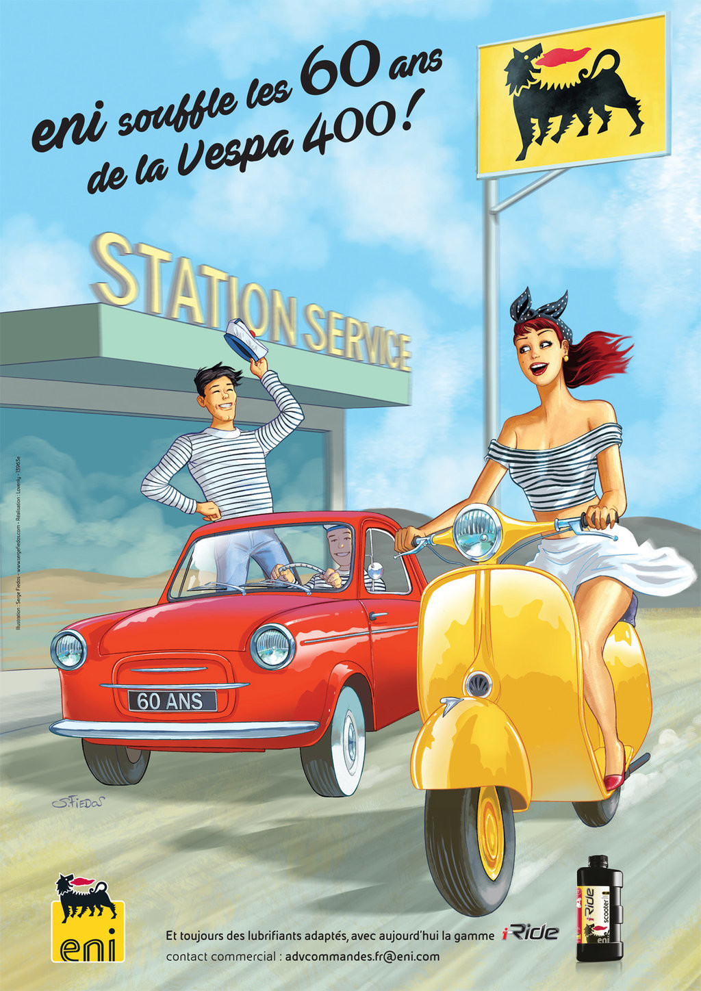Serge fiedos eni and vespa 2017 sequel vespa 400 by serge fiedos