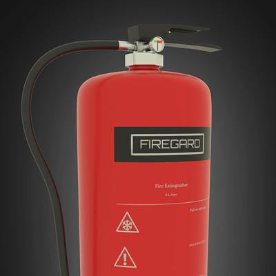 Sondre aspehaug fire extinguisher 02 test