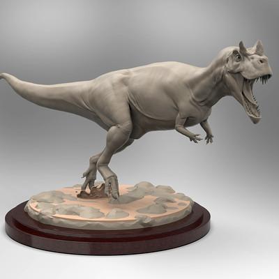 Alberto camara ceratosaurus render1