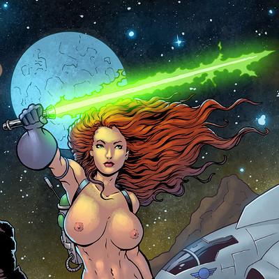 Maksim strelkov space woman by cbartguy 4