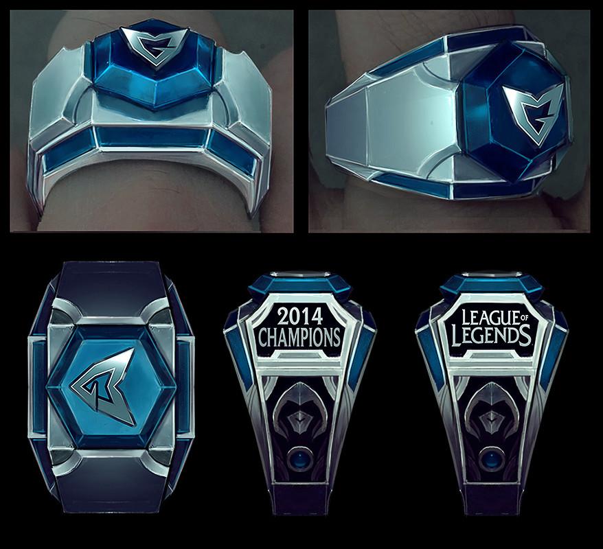 2014 Championship Ring Concepts