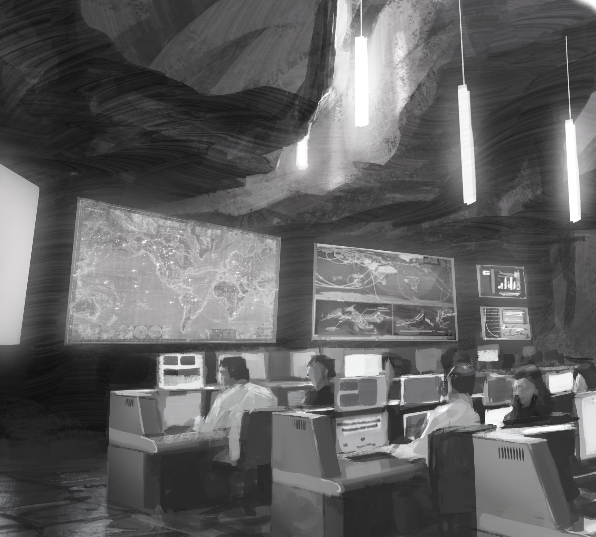 Another version of a traditional Mission Control.