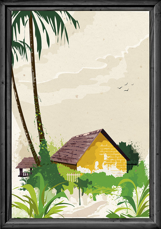 Rajesh r sawant yellow konkan house