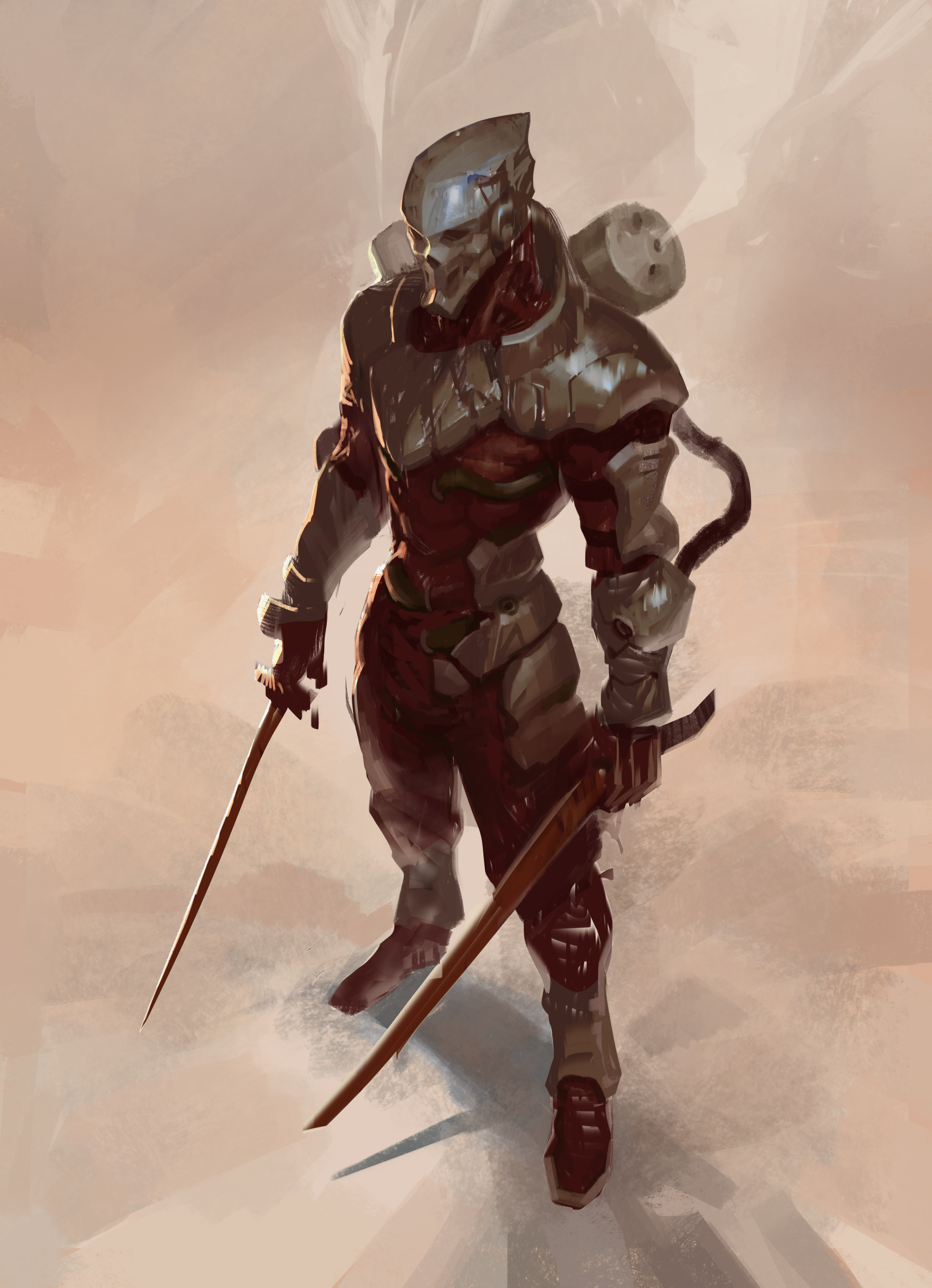 Skeleton Soldier (desert version)