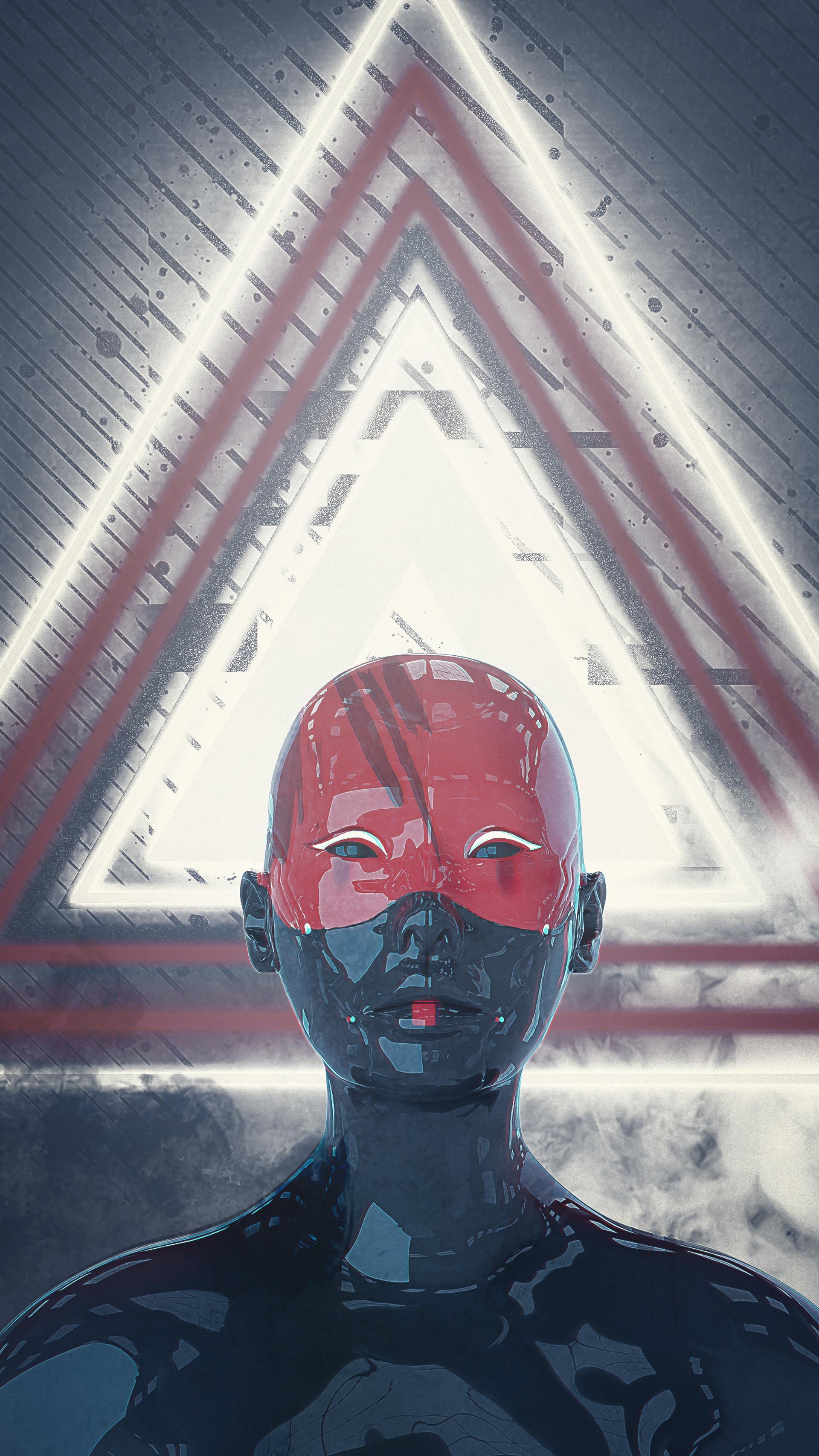 Artstation Wallpaper Inspired In Ghost In The Shell Marcelo Sousa