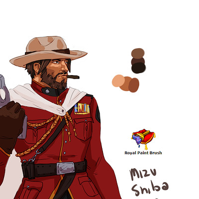 J zirebiec royal guard mccree