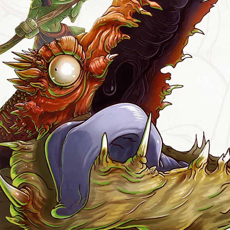 Goblin Dragon Raider