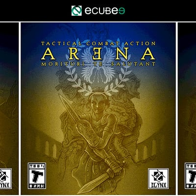 Arena - Box Art Design