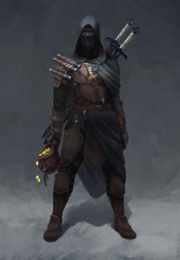 Artstation - Mask, God Of Thieves, Vlad Ogorodnyk