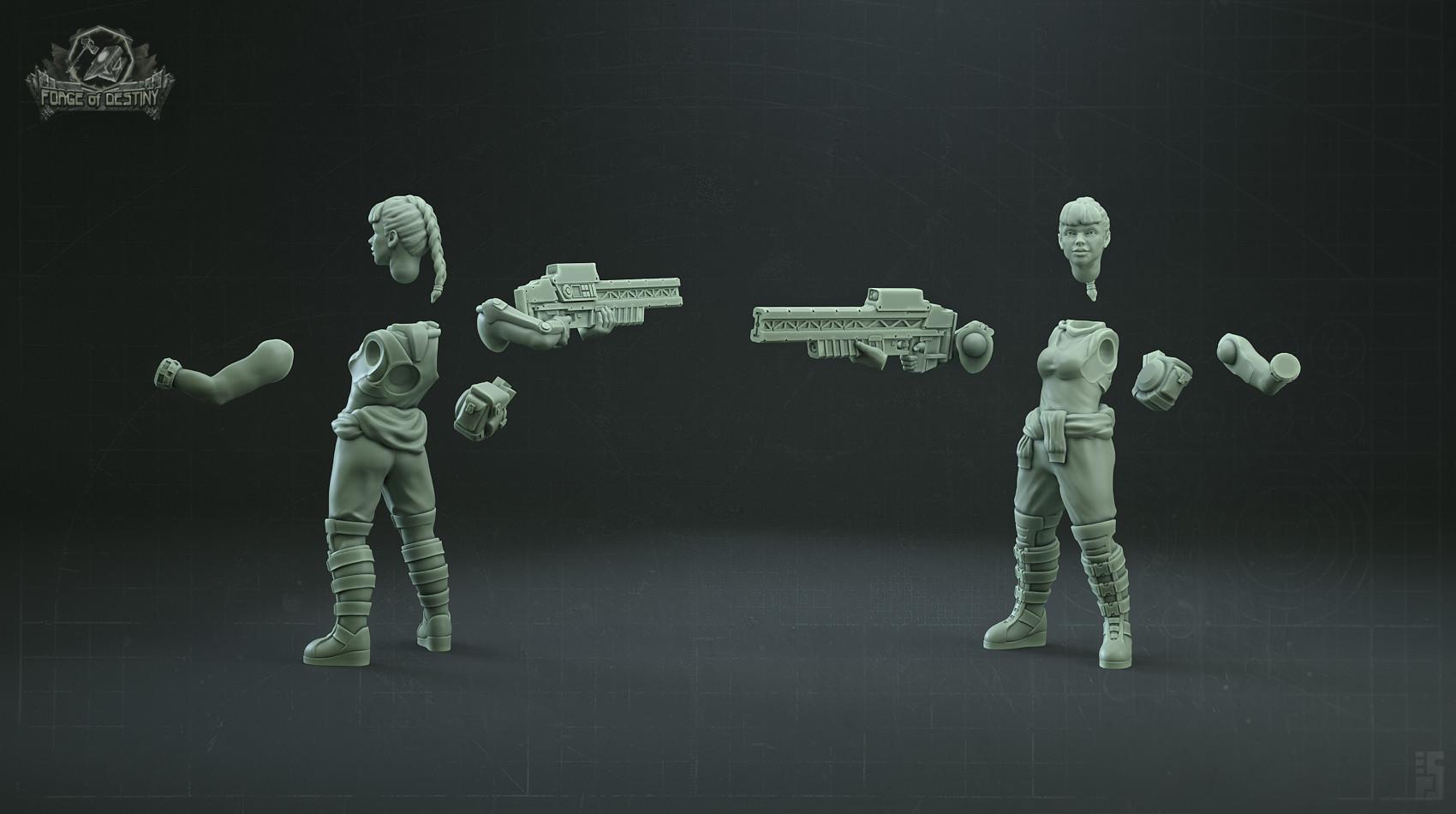 Sergei popovichev enigma women sniper parts