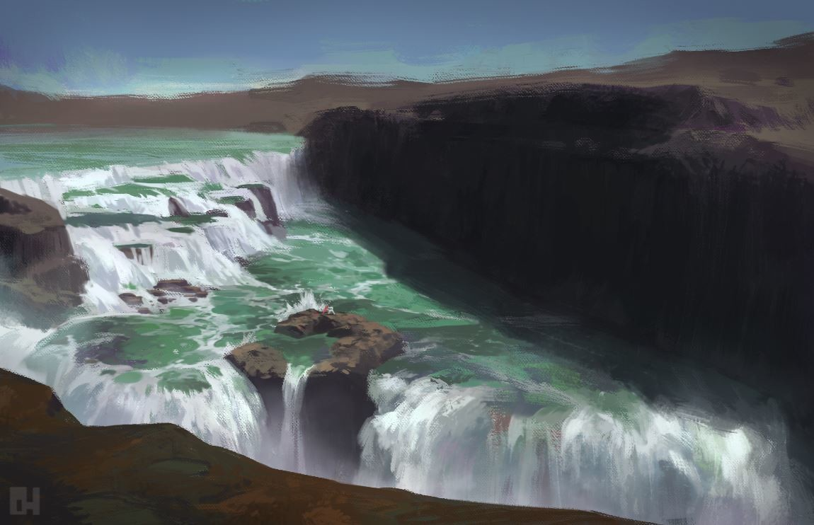 Danny huynh cliffwaterfall