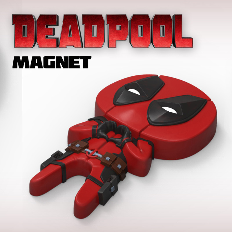 "Deadpool ""Feel The Love"" Magnet"