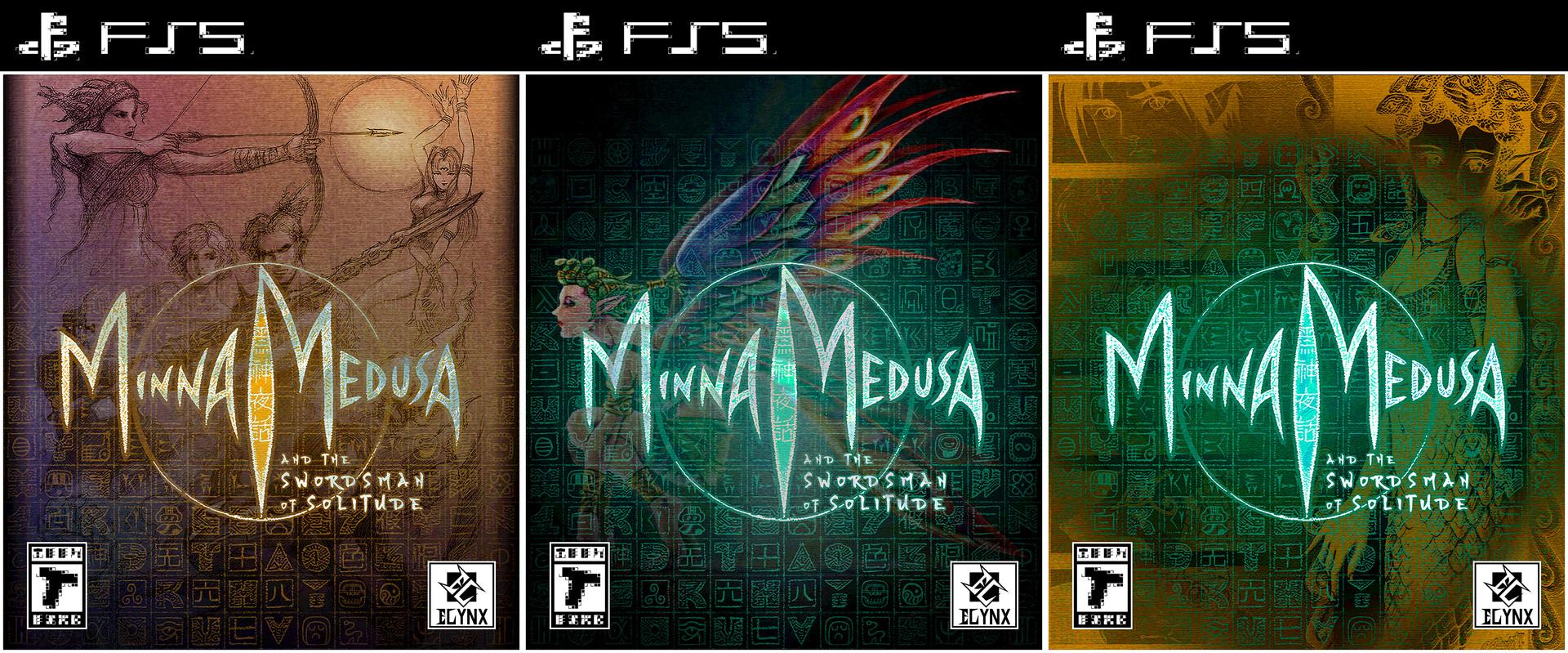 Minna Medusa - Box Art Design Triptych