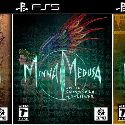 Minna Medusa - Title Design I