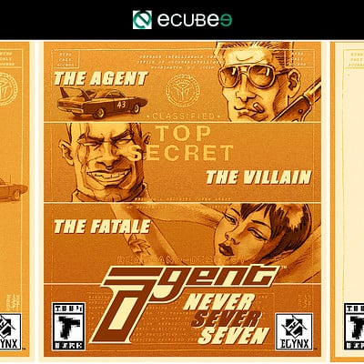 Agent - Box Art Design