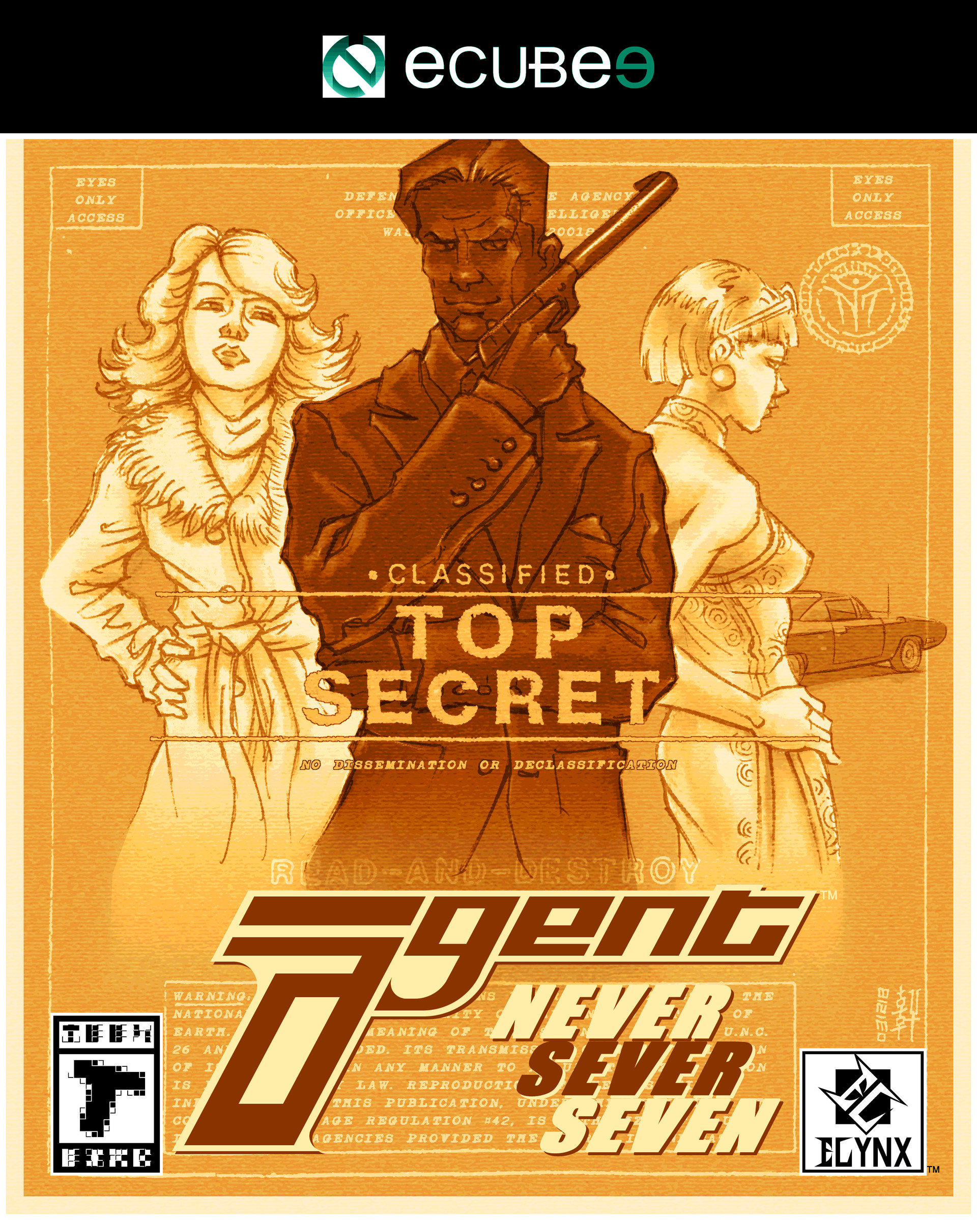Agent - Box Art Design I