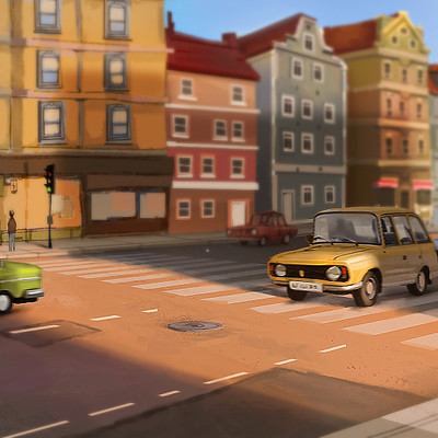 Deo georgiev car scene test04