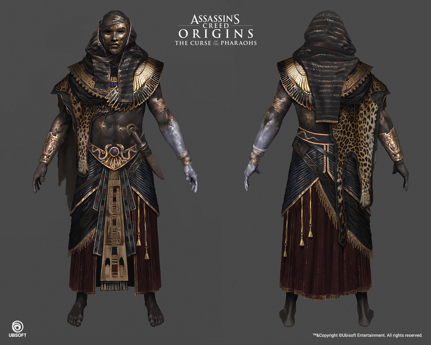 Artstation Assassin S Creed Origins The Curse Of The Pharaohs Konstantin Kostadinov