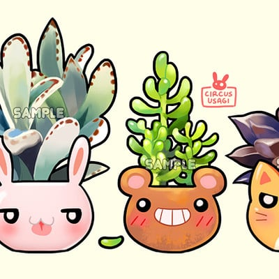 Jia ying ong cheeky planters