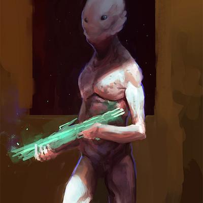 Thomas wievegg bbgun alien