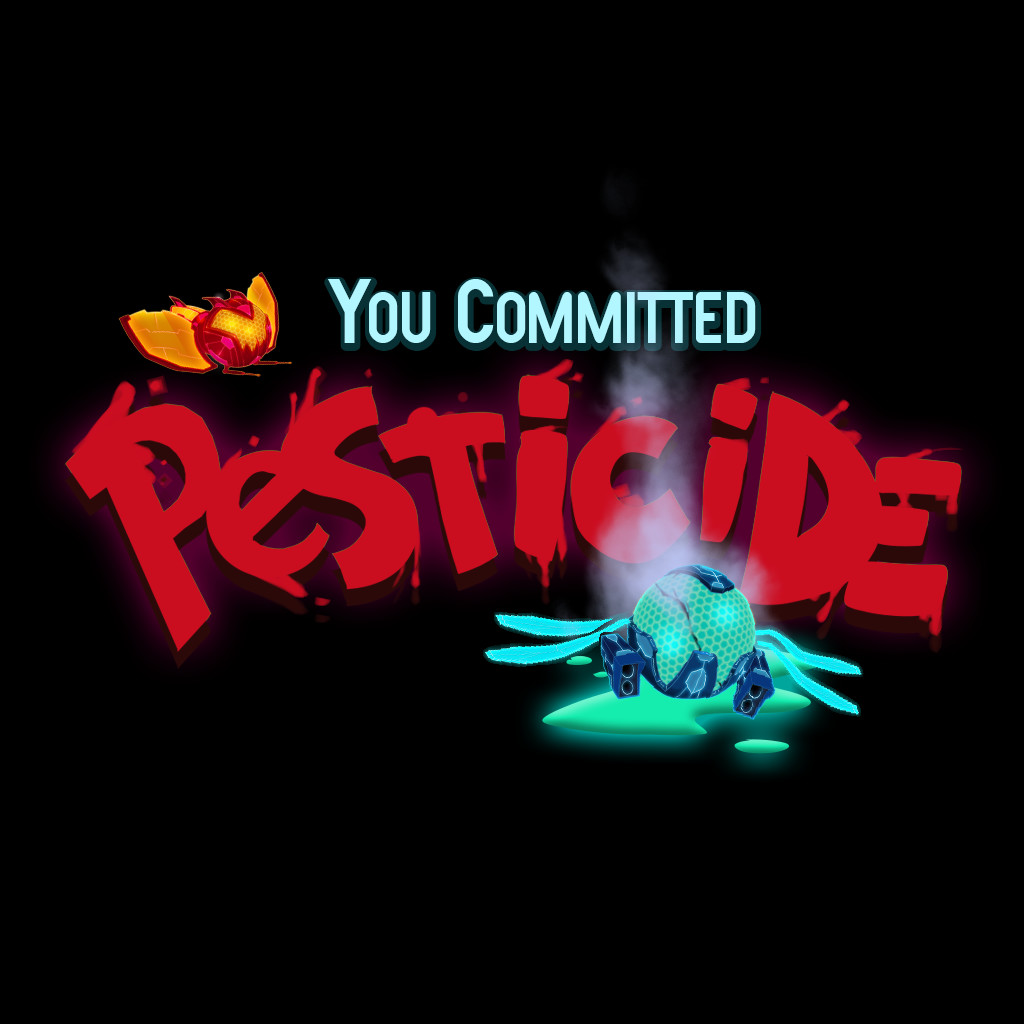 """""""You Committed Pesticide!"""" Achievement UI based on number of enemies destroyed"""