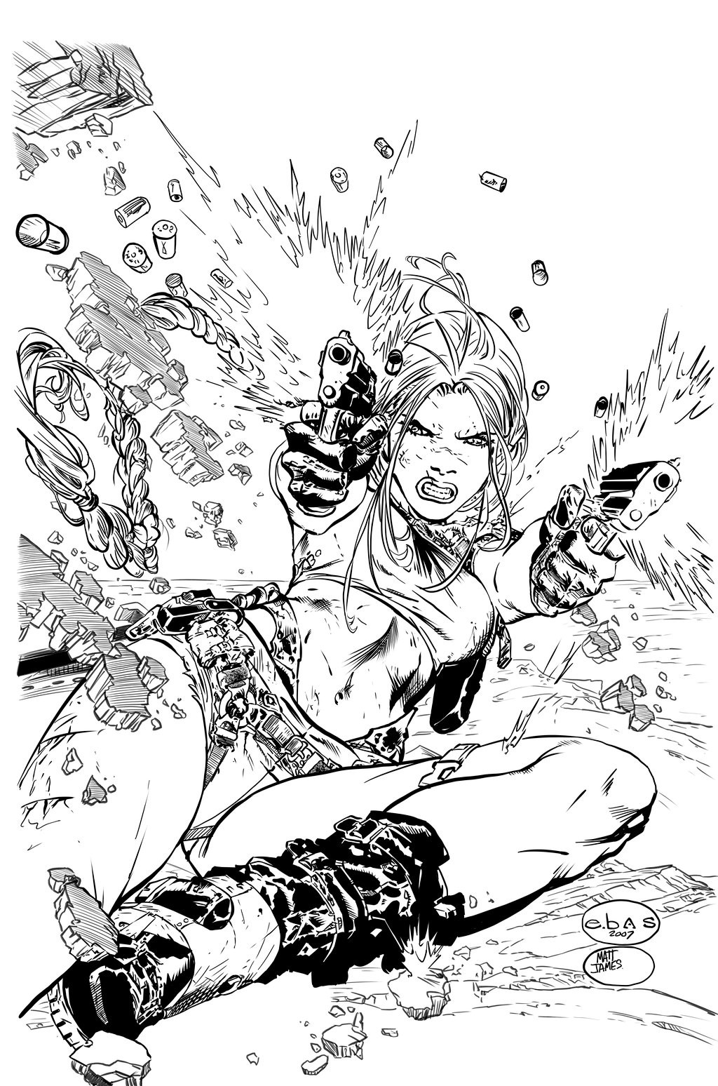 Tomb Raider 46 Cover Inks