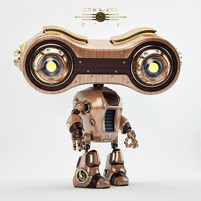 Vladislav ociacia look see retro robot 1