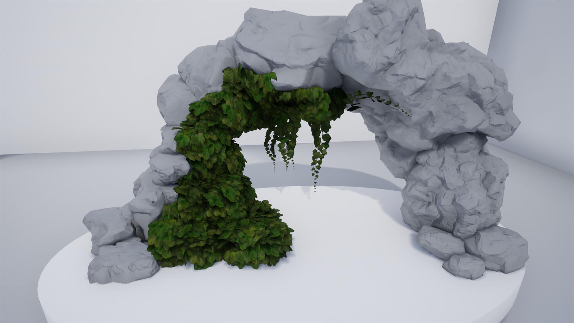 ArtStation - dynamic Ivy Creation Pack, Nils Arenz