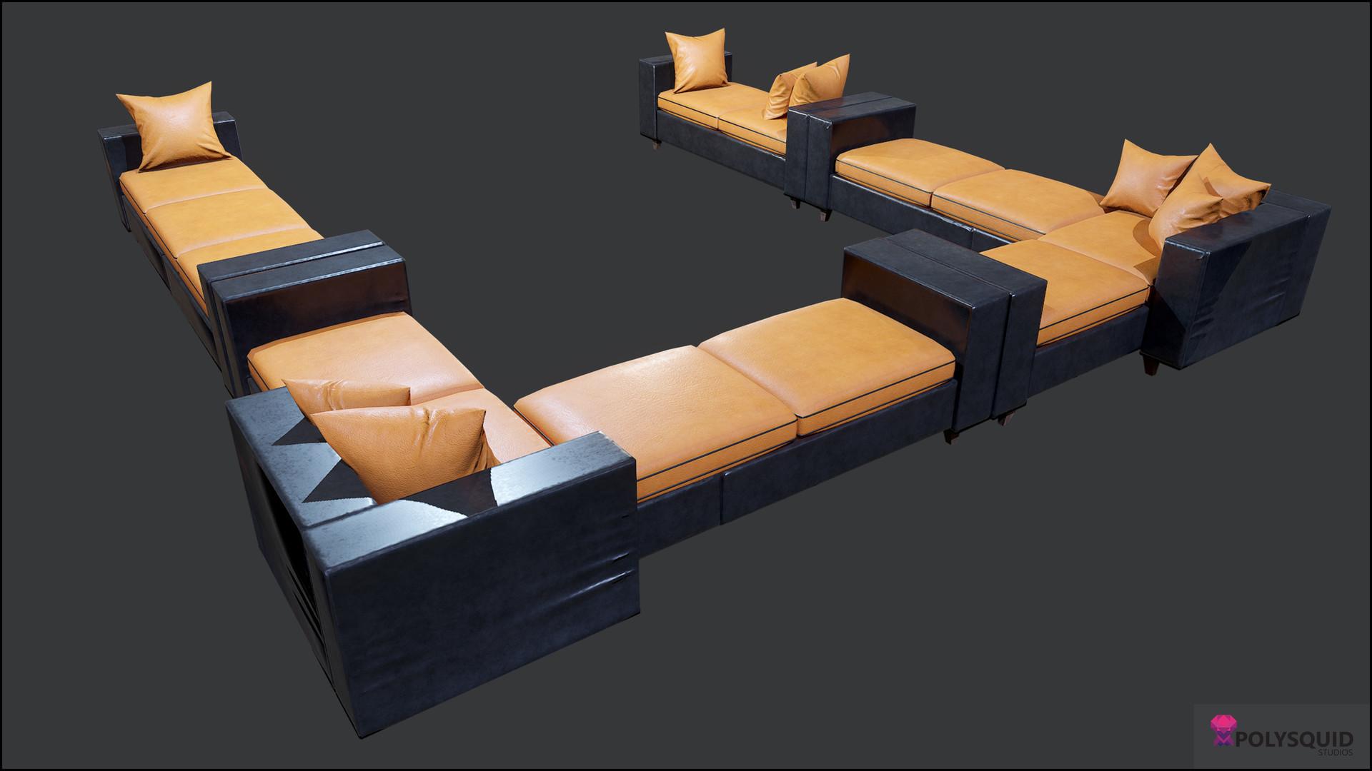 Poly squid florin bisca modular sofa03