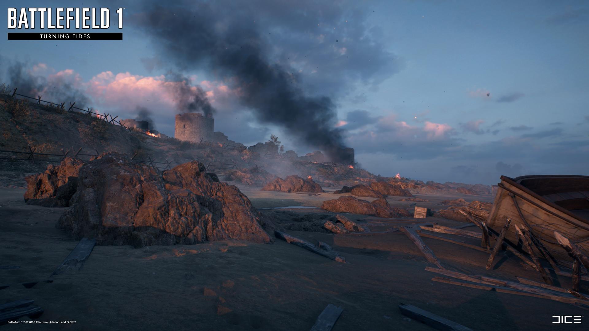 Artstation Battlefield 1 Turning Tides Cape Helles Guilherme
