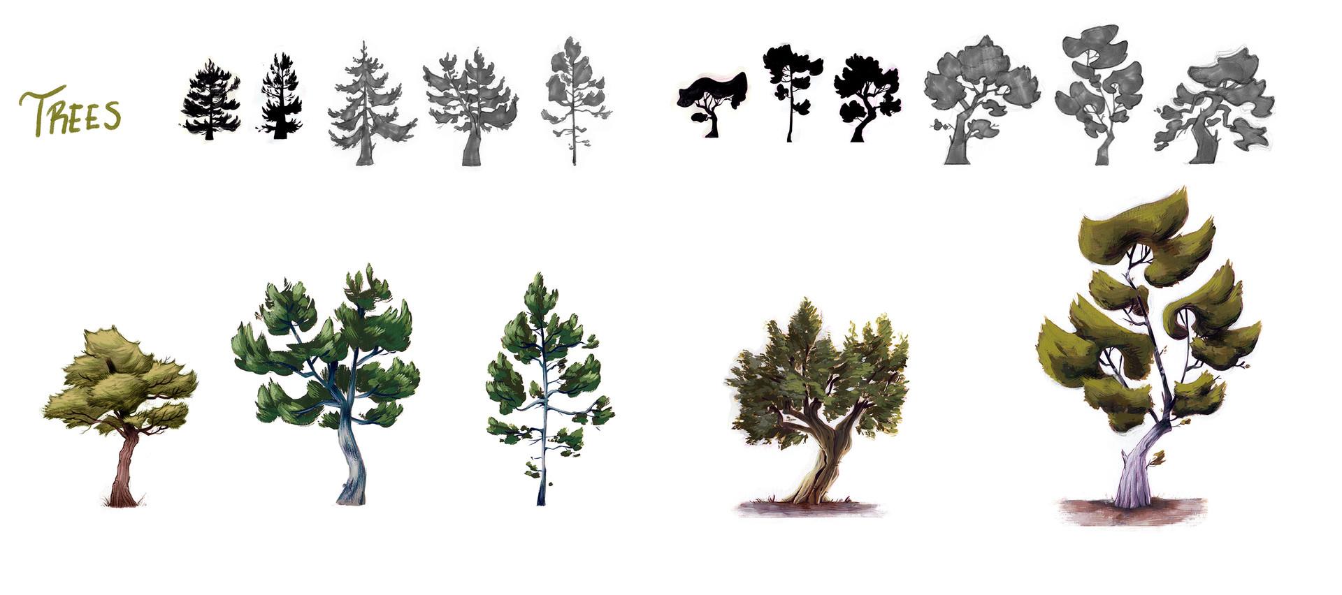 Sara ruiz prado trees