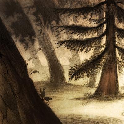 Brackgrounds/trees studies