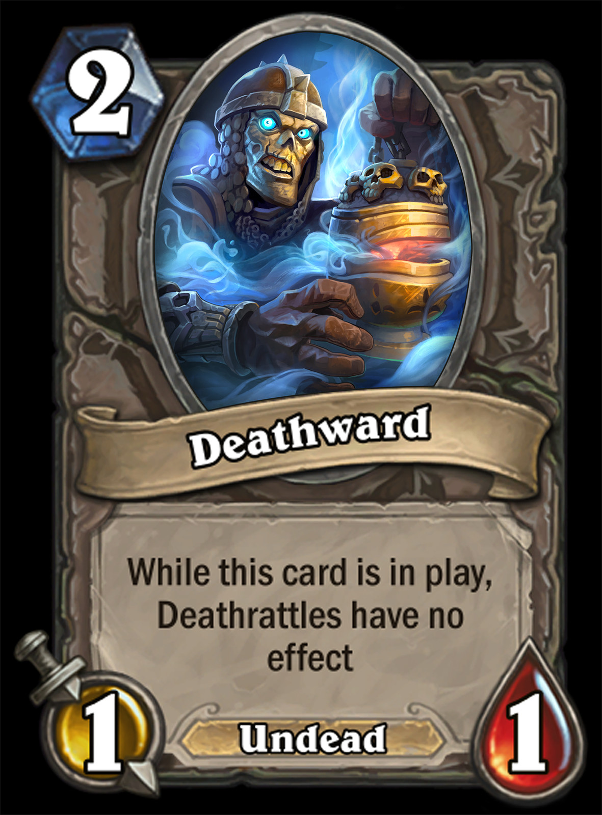 Hearthstone mock cards.