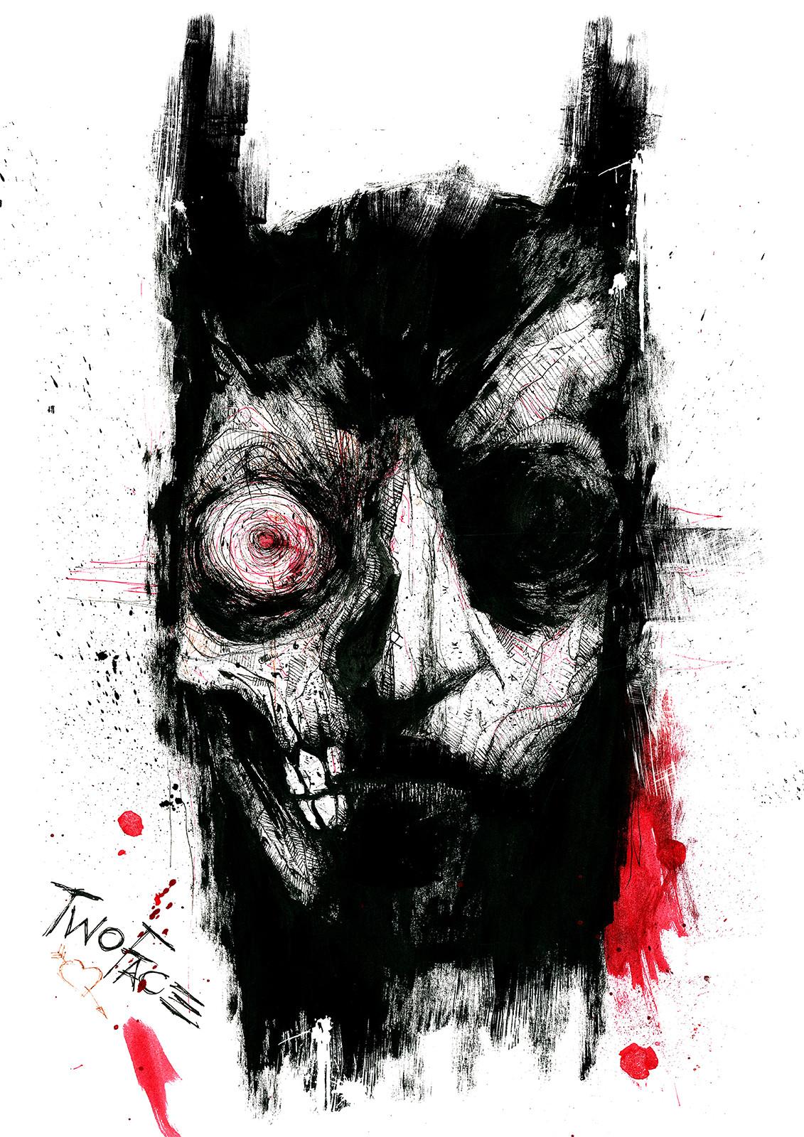 Manmachine interface batman vs twoface1