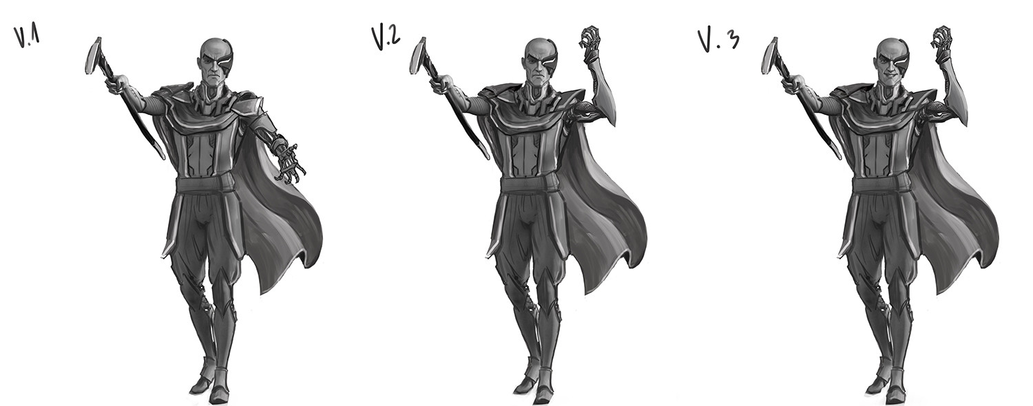 First concepts of pose.