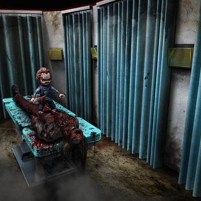 Adam milicevic chucky curtain room 2