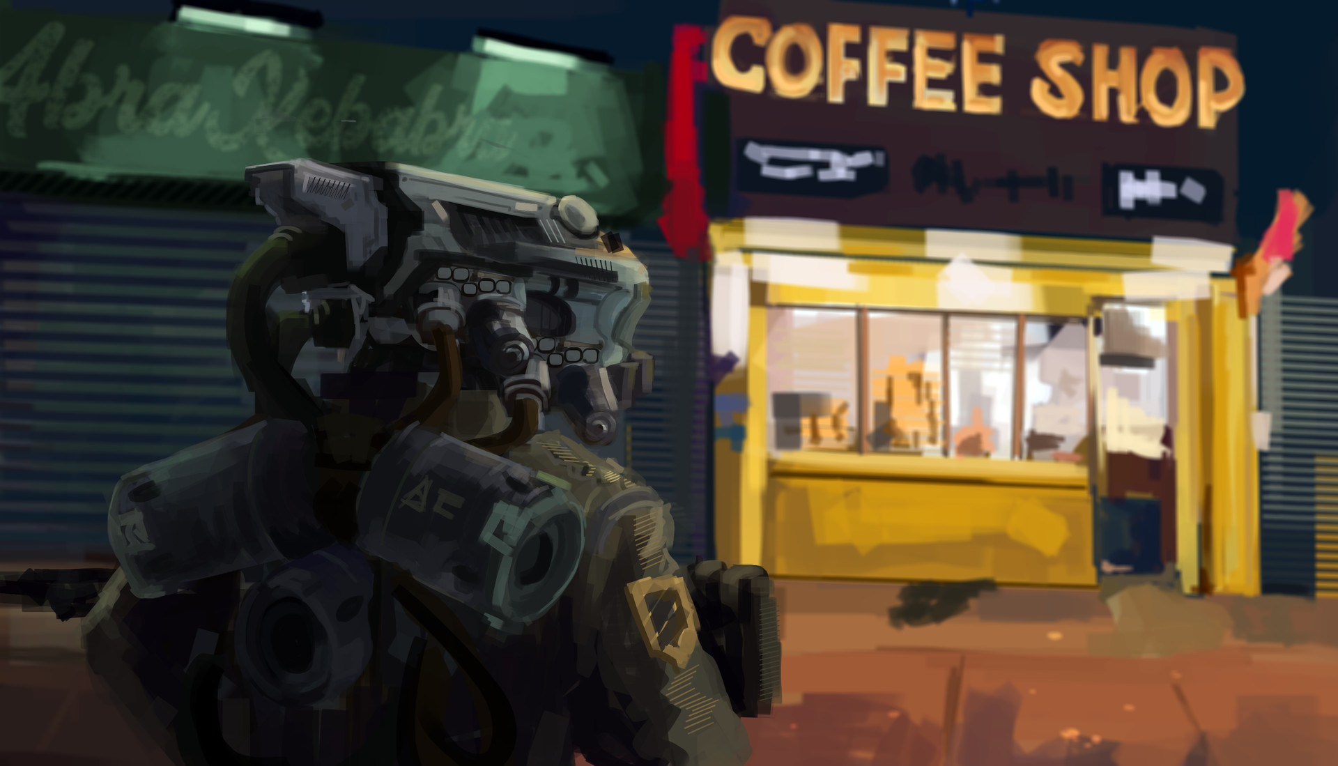 Jack dowell coffee shop robot 02