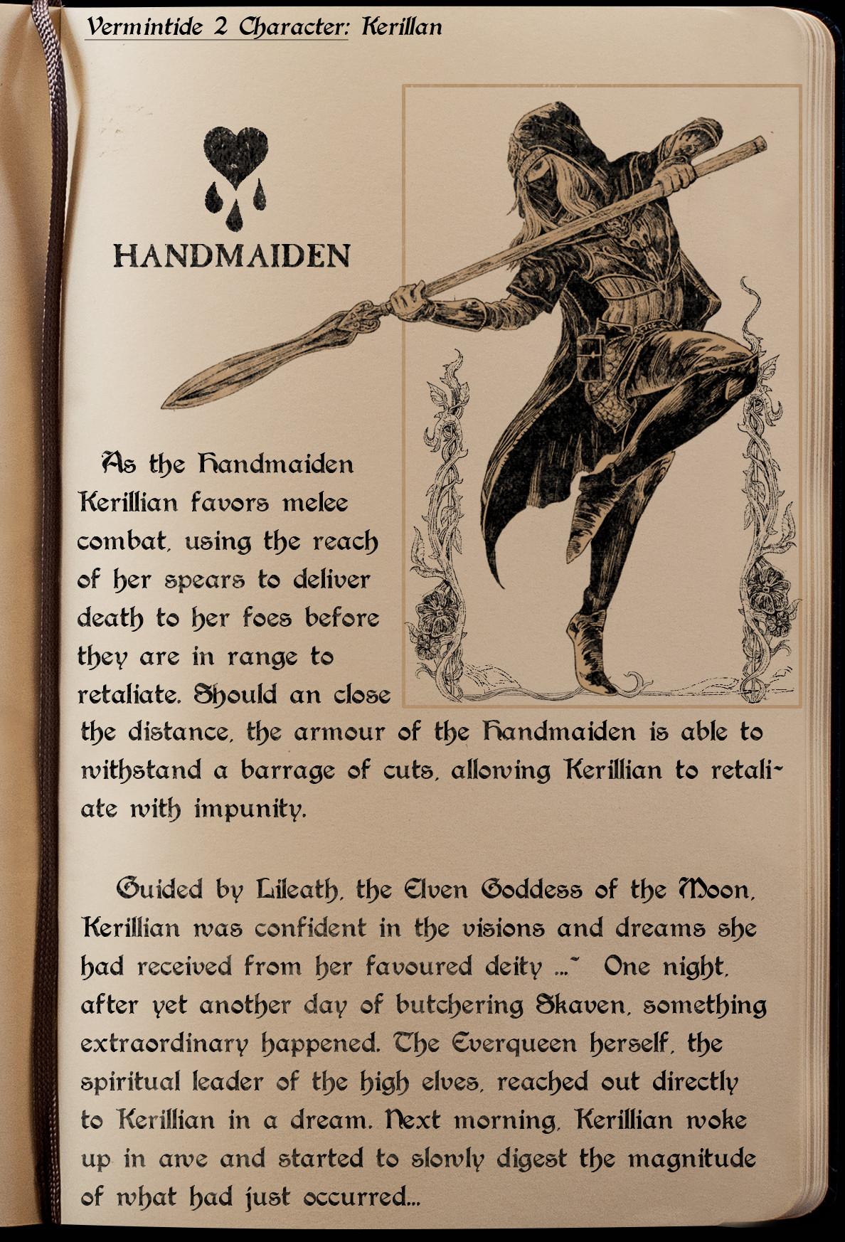 Handmaiden Lore