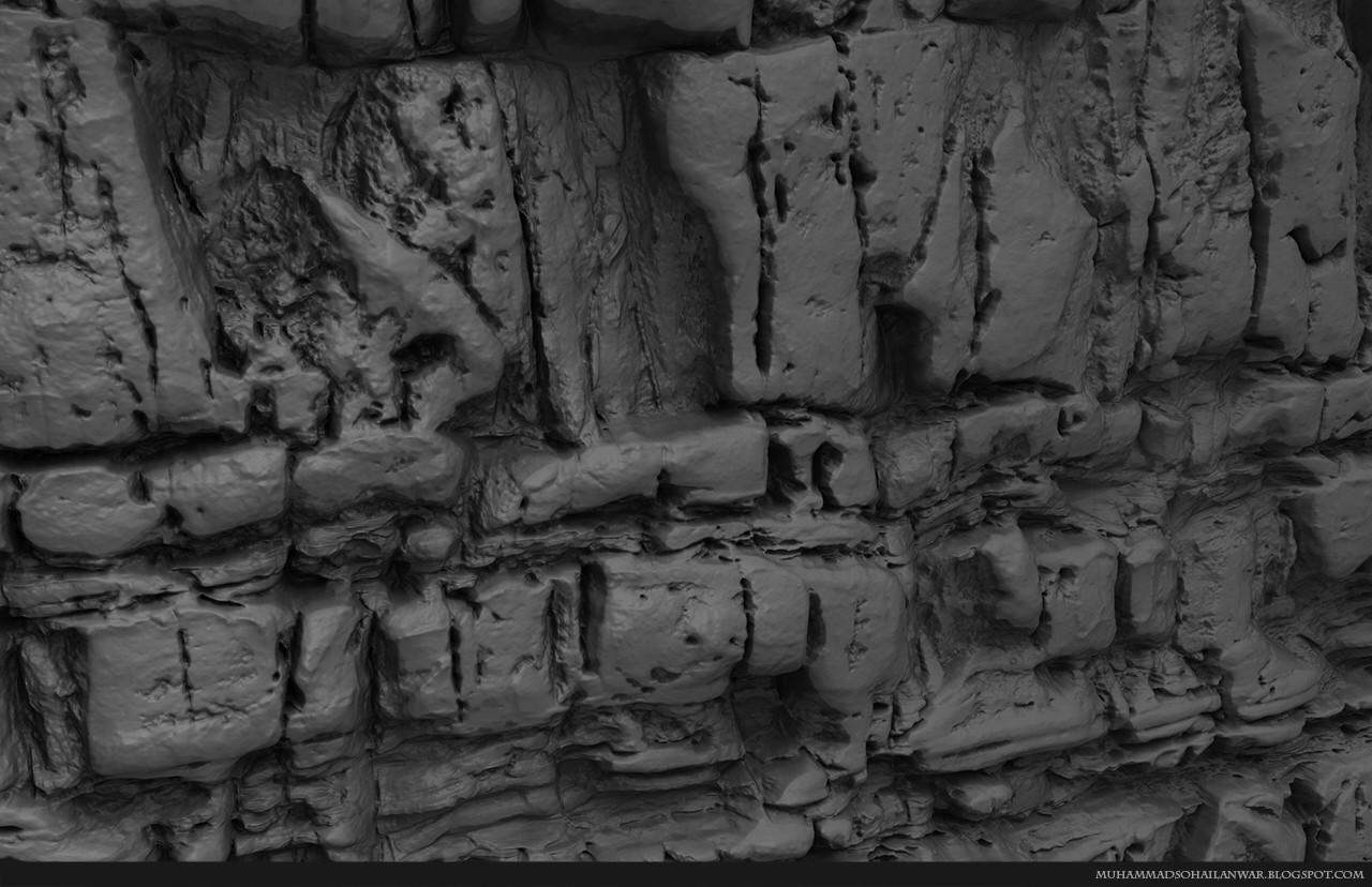 Close Up View of Sculpt